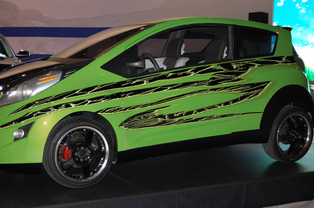 Modified Chevrolet Beat Transformers 2 Wallpapers Skids Chevy Concept