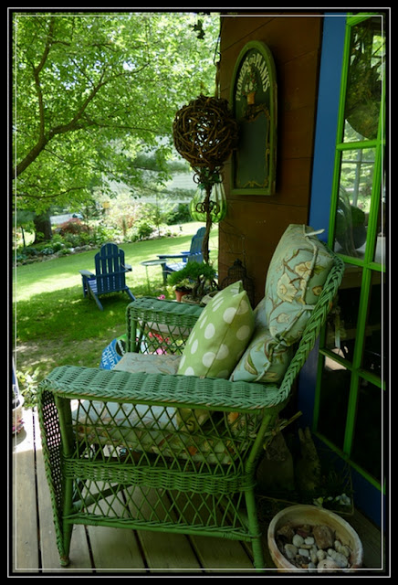 Shades of Green porch