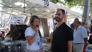 Καθηγήτρια από το ΤΕΙ Κρήτης και ο Βαγγέλης Αυγουλάς