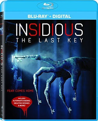 Insidious: The Last Key Blu-ray