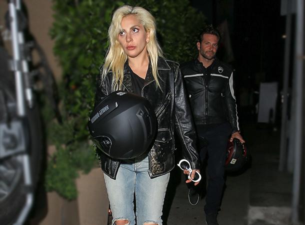 Lady Gaga Leaves 'Giorgio Baldi' Restaurant in L.A.