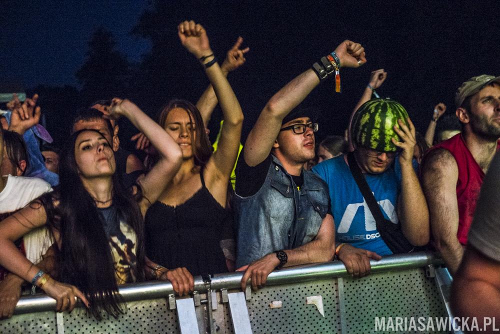 farben lehre czad festiwal tłum publika publiczność