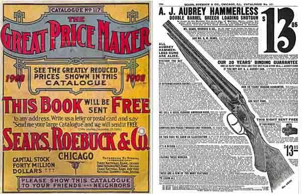 Sears Roebuck & Co. catalog 1908