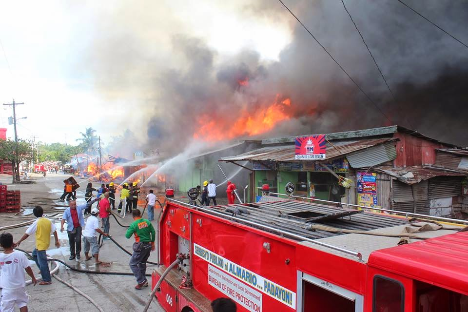 Fire Hits Mati Slaughterhouse Block