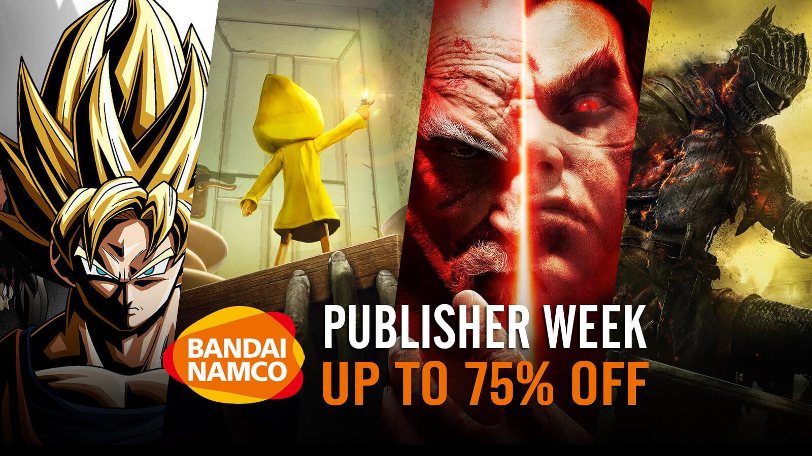 Humble Store Bandai Namco Publisher Week 2019 - Gameslaught