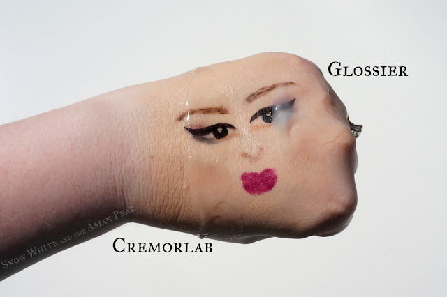 Glossier Milky Jelly cleanser vs Cremorlab Gel Oil
