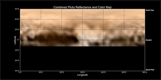 Plutão - foto colorida