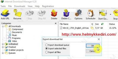 Melanjutkan download file dikomputer lain2