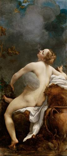 Correggio - Júpiter e Io - c. 1530