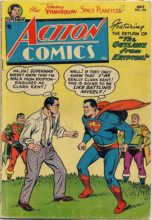 Read online Action Comics (1938) comic -  Issue #194 - 1