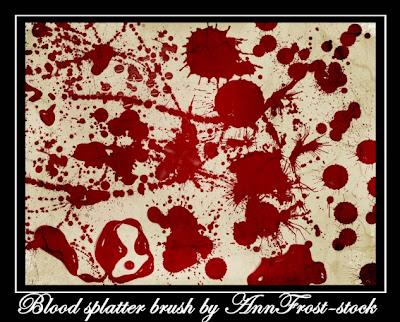 pinceles photoshop gratis sangre