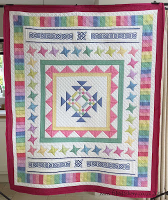 Oakshott Fabric quilt made by Ros