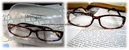 Cotton Tortoise reading glasses