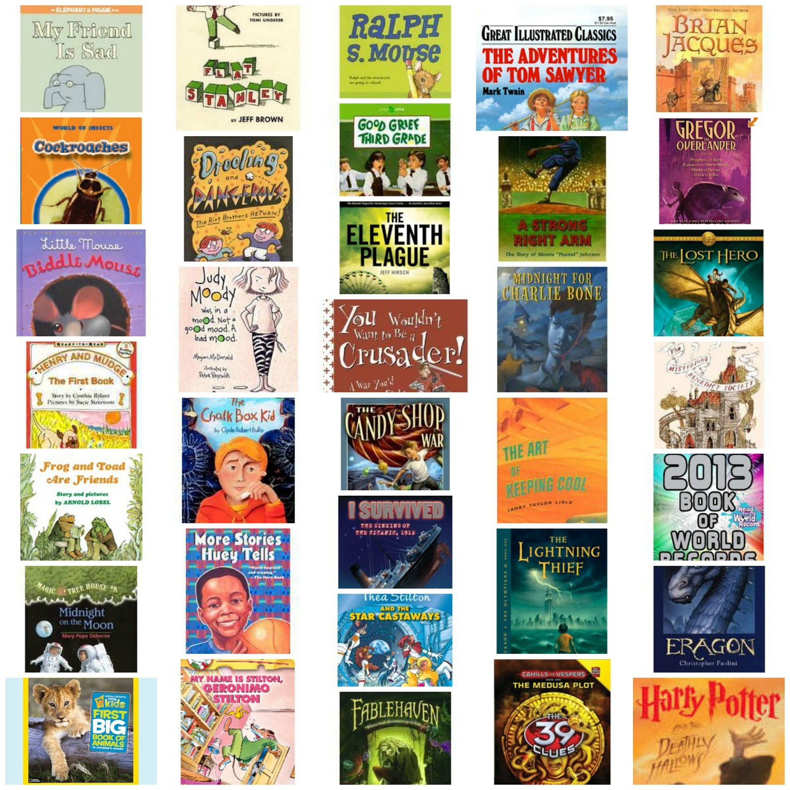 100 Books For Boys Recommended By Boys Sorted By Reading Ability