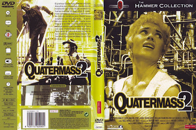 Cover caratula dvd: Quatermass II | 1957 | (Quatermass 2)