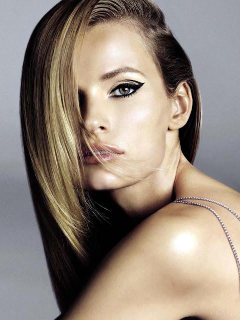 iluminacion cabello lacio