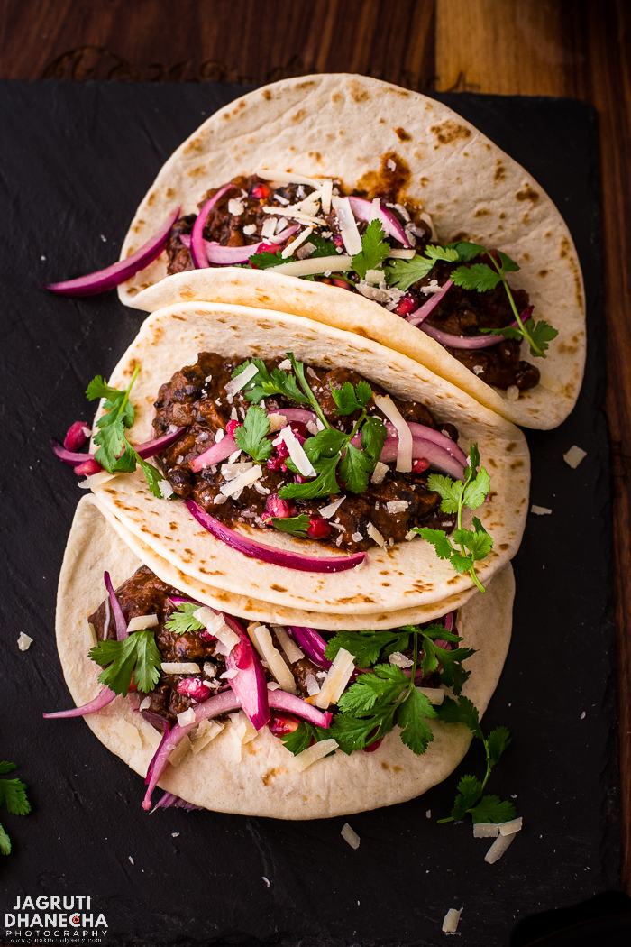 Put your Mexican meal kits at the back of your cupboard and have a go at making Espresso Black Bean Tacos at home. Invite all your espresso crazy friends for a Taco Tuesday night and impress them with these vegetarian tacos, which are packed with smoky rich flavours, seasoned with a homemade taco seasoning and a hint of coffee. The coffee lends an earthy flavour to the taco sauce taking your feast to new flavourful heights.