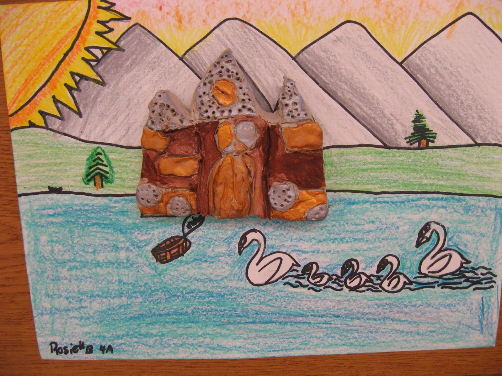 Jamestown Elementary Art Blog 4th Grade Form