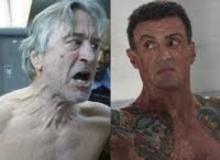 Grudge Match movie starring Robert De Niro and Sylvester Stallone.