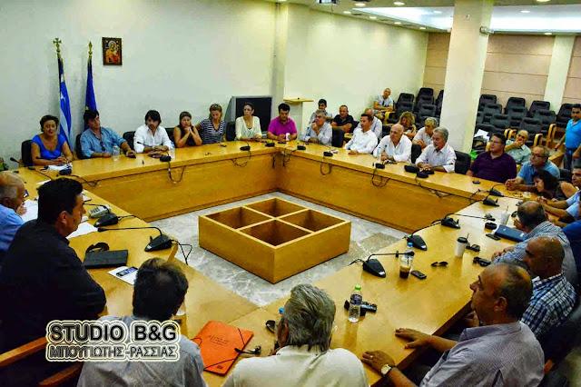 Έκτακτο Δημοτικό Συμβούλιο στο Ναύπλιο και για την λειτουργία του Νοσοκομείου
