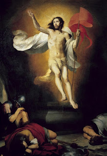 Bartolomé Esteban Murillo - La Resurrección del Señor - Real Academia de Bellas Artes de San Fernando, Madrid