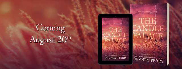 ~COVER REVEAL~ The Candle Palace (Jamison Valley Book 6) by Devney Perry
