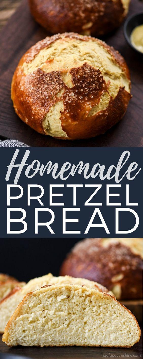 The BEST Homemade Pretzel Bread Recipe