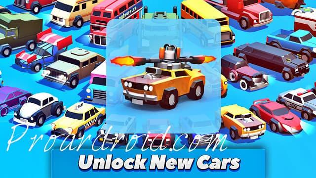 لعبة تحطيم السيارات Crash of Cars v1.2.51 مهكرة كاملة للاندرويد باخر تحديث logo