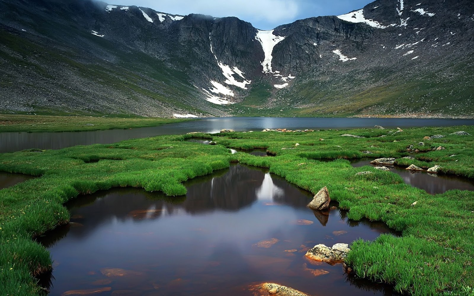 wallpaper proslut: Top Nature Wallpapers HD Glacier Lake Mountains Clear Water High Res Picture