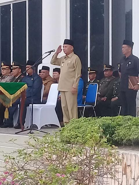 Wabup Asahan Dipercaya Menjadi Irup Hari Kesaktian Pancasila, Ketua DPRD Bacakan Ikrar