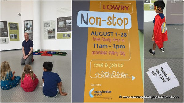 Free children's workshop in The Galleries