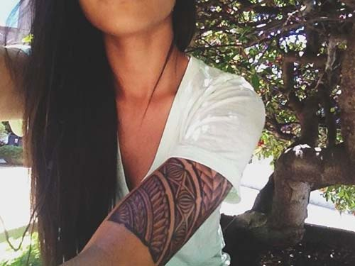 kadın maori tribal dövmeleri tumblr woman maori tribal tattoos