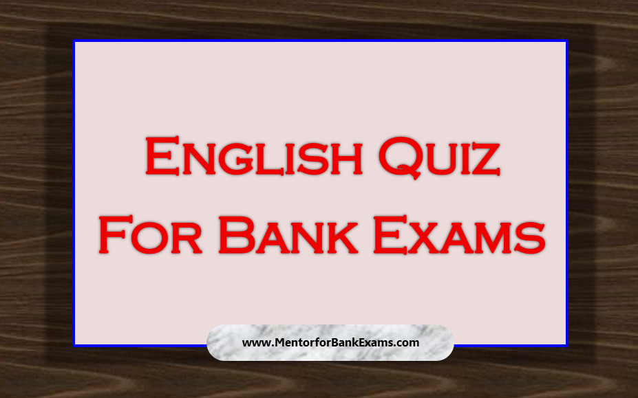English Vocabulary for Bank PO Exams - SuccessCDs.net