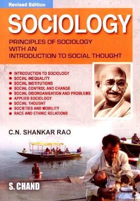 Download Free Book Sociology by Shankar Rao PDF