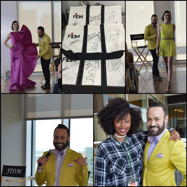 "NICK VERREOS FIDM.....Nick Verreos Appearance at FIDM San Diego ""3 Days of Fashion 2016"": Blog Recap!"
