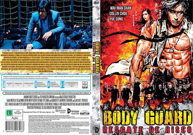 Capa DVD Bodyguard Resgate De Risco