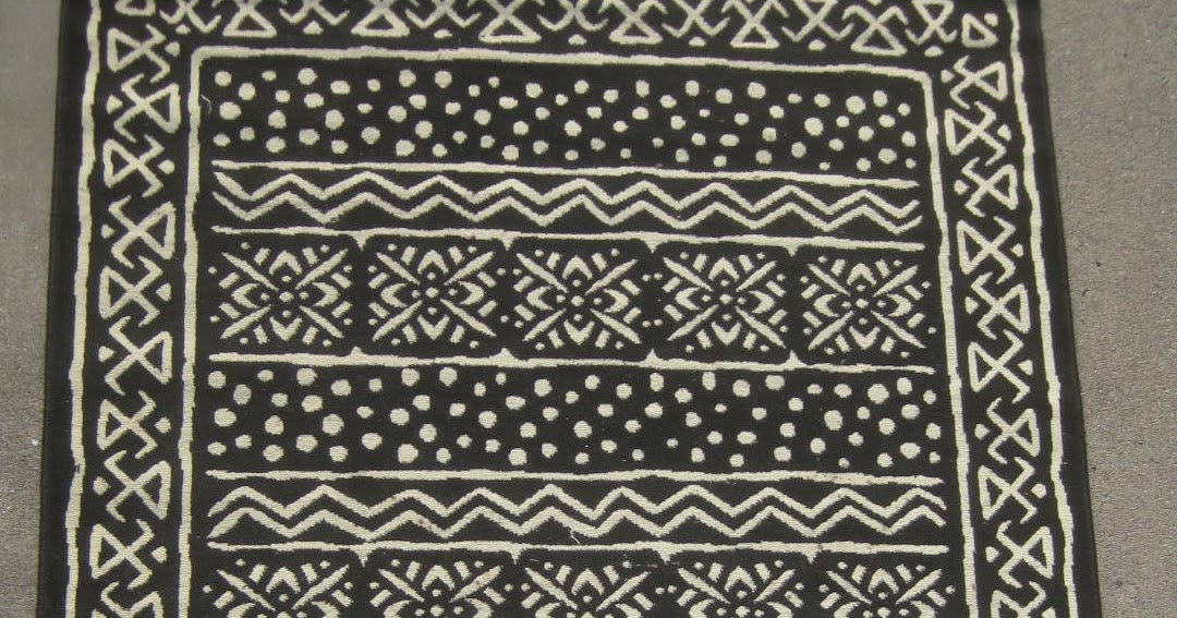 Uhuru Furniture Amp Collectibles Sold Mud Cloth Rug 50