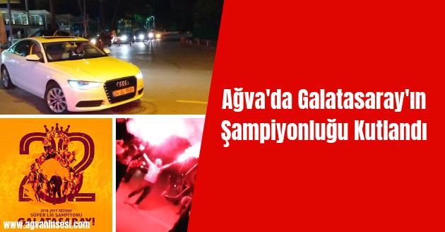 Ağva'da Galatasaray'ın Şampiyonluğu Kutlandı