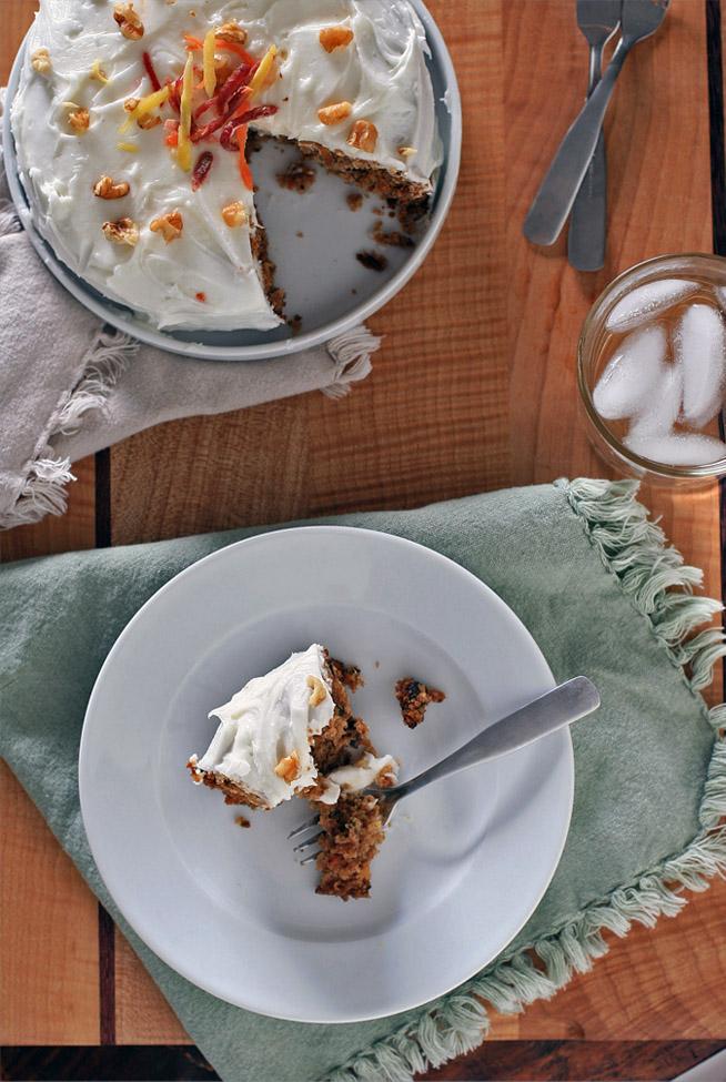 Gluten Free Carrot Cake Starch Potato Baking Powder Soda Xanthan