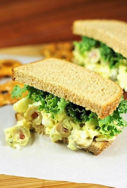 Olive Egg Salad image