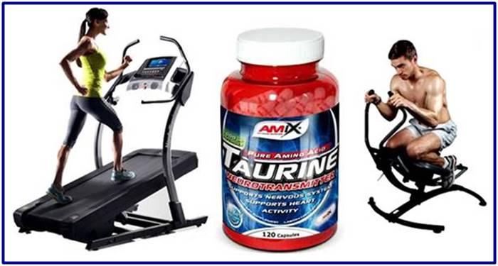 La taurina mejora el rendimiento durante el entrenamiento físico y mental