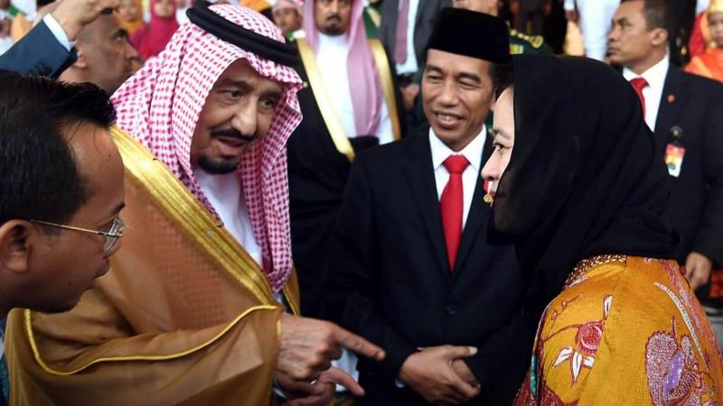Raja Salman bertemu cucu Soekarno, Puan Maharani