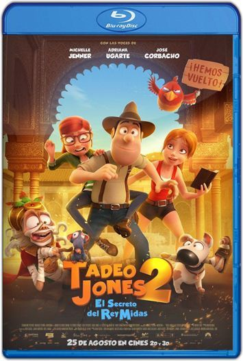 Tadeo Jones 2 El secreto del Rey Midas (2017) HD 1080p y 720p Latino