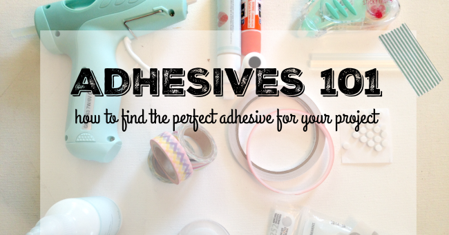 Crafting adhesives 101 the pros and cons of glues tapes for Cons 101