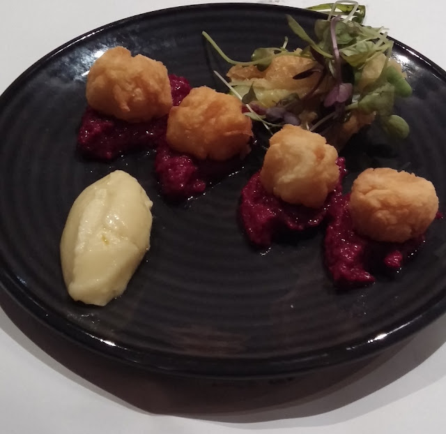 Southgate Welcome Winter Feast, ENA Greet Street Good, salted cod fritters