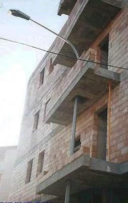 Alumbrado público, farola, balcón, soluciones arquitectónicas
