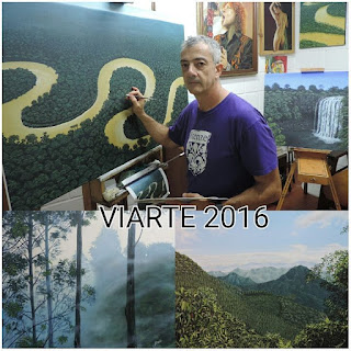 Pintores Colombianos, Jorge Marin Viarte 2016