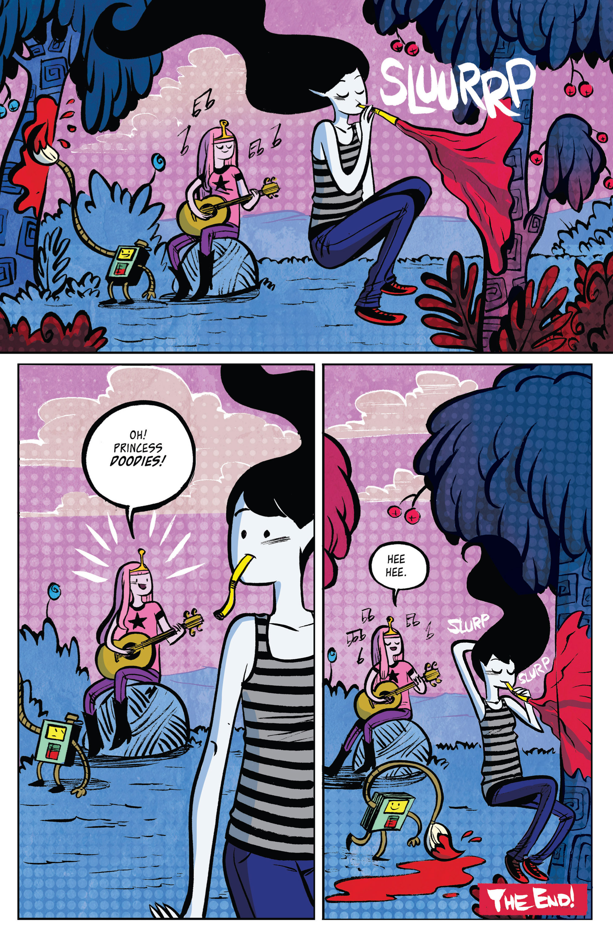 Read online Adventure Time: Marceline and the Scream Queens comic -  Issue #2 - 28