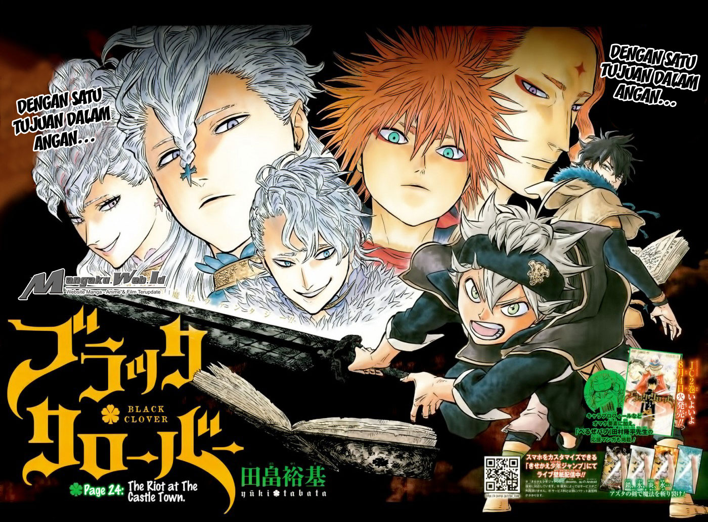 Black Clover Chapter 24 Kekacauan Di Castle Town