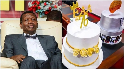 Photos From Pastor Adeboye's 76th Birthday Celebrations